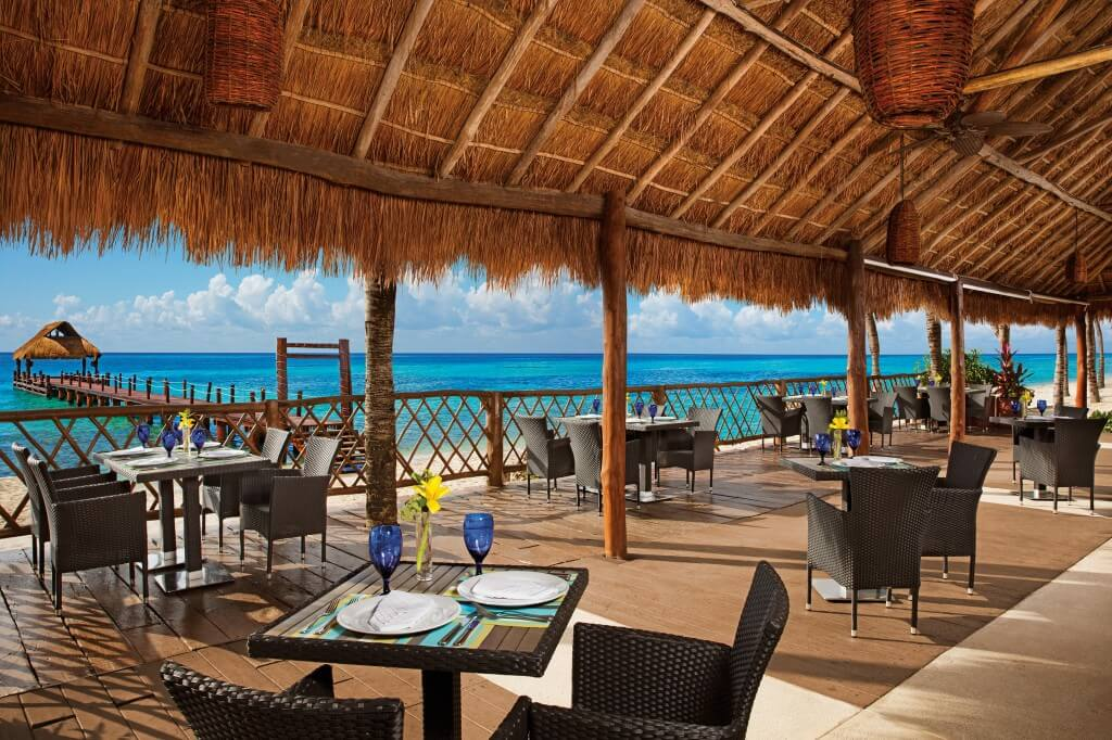 Secrets Aura offers a range of premier dining options and adult-centric perks.