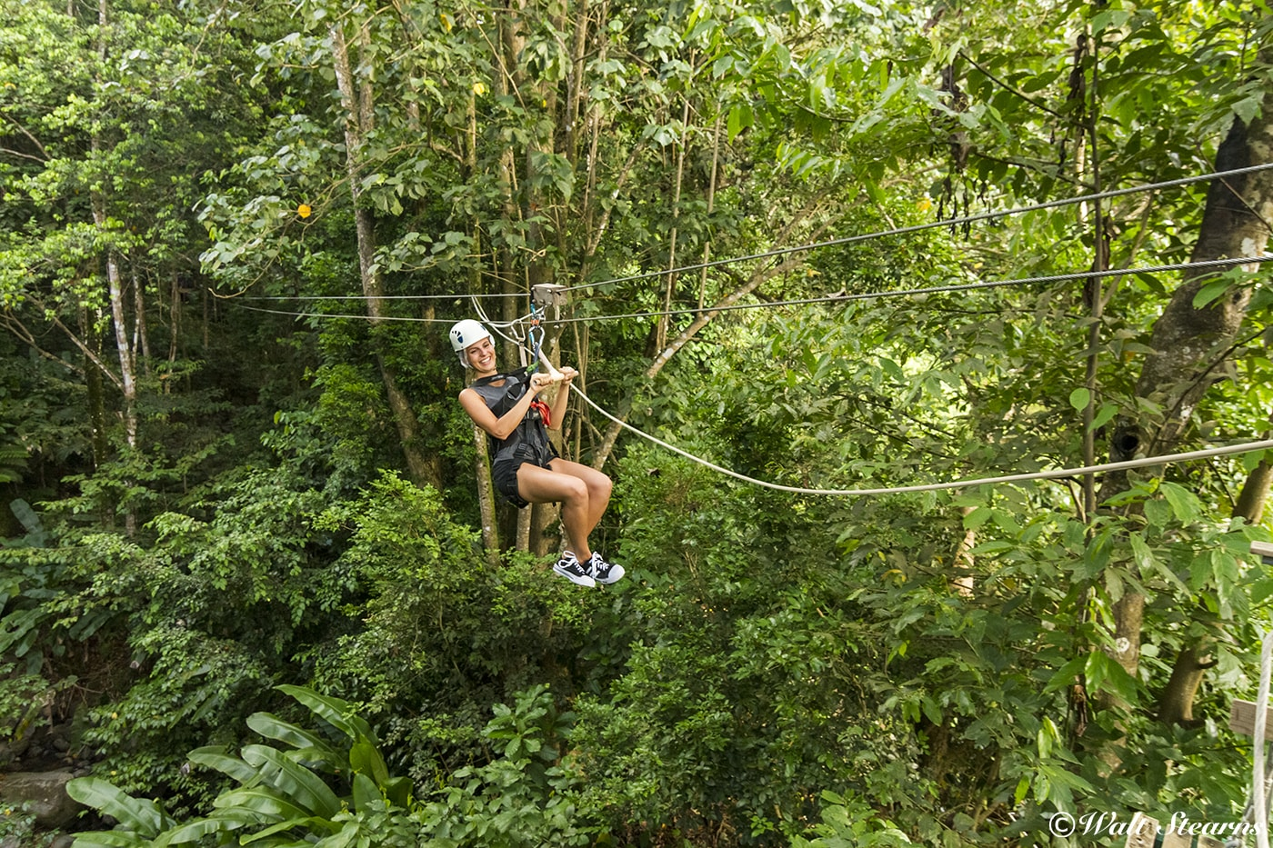 Ziplining is one of the off-property activities that guests can add to the daily schedule of adventures at BodyHoliday.