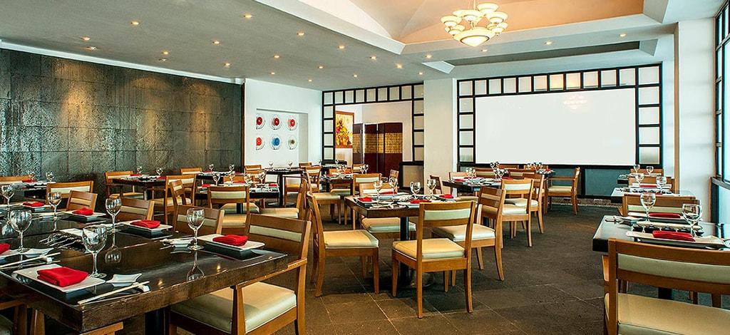 Pan-Asian flavors are showcased at Mo-Mo-No-Ha-Na.