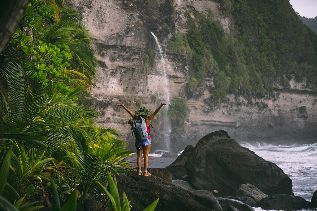 From waterfalls to mountain vistas, Dominica rewards hikers with memorable views.