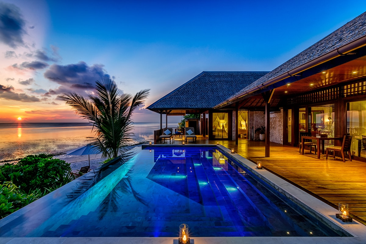 Wakatobi's waterfront Villas provide premier accommodations and unmatched views.
