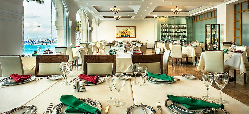 The resort's Bugambilias restaurant serves authentic regional Mexican dishes in a casually elegant setting.