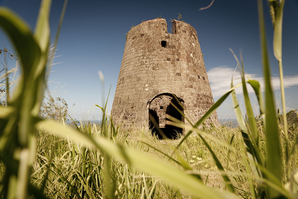 Signs of the islands agricultural past are evident in the stone towers that were once windmills.