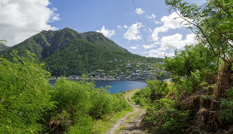 View of Scotts Head, Dominica