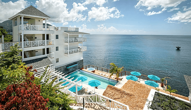 Set along a serene coastline of the Caribbean Sea, Fort Young Hotel's idyllic accommodations provide the perfect escape for divers.