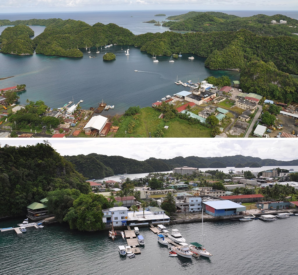 Sam's Tour is located on the Malakal Harbor waterfront, convenient to many of Palau's resorts.