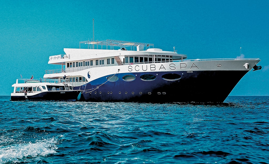 The yachts of Scubaspa take liveaboard luxury to a whole new dimension.