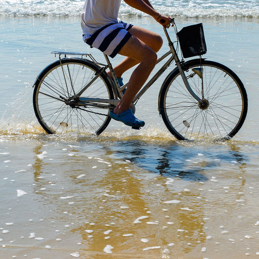 Biking in Curacao