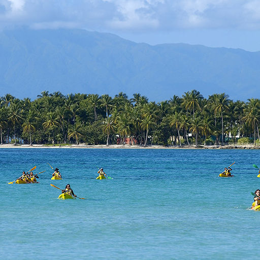 Kayaking in Guadeloupe