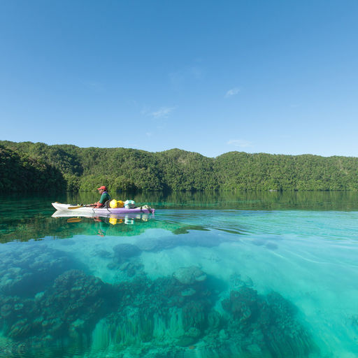 Kayaking in Micronesia