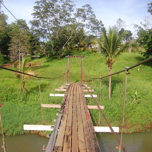 Hiking in Papua New Guinea