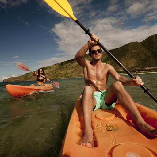 Kayaking in St. Kitts and Nevis