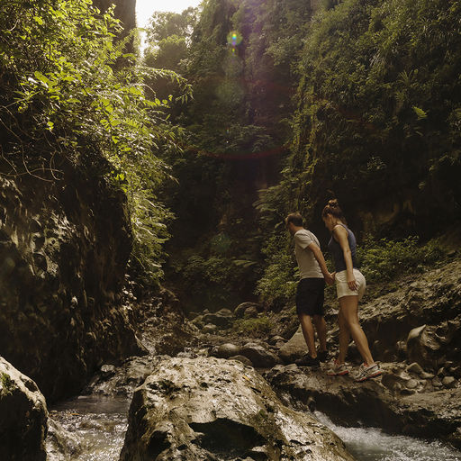 Hiking in St. Lucia