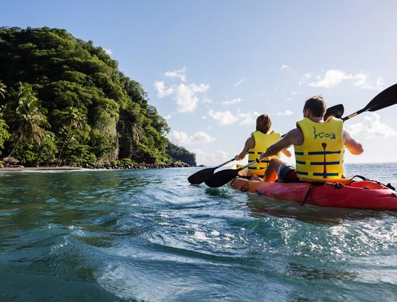 Kayaking in St. Lucia