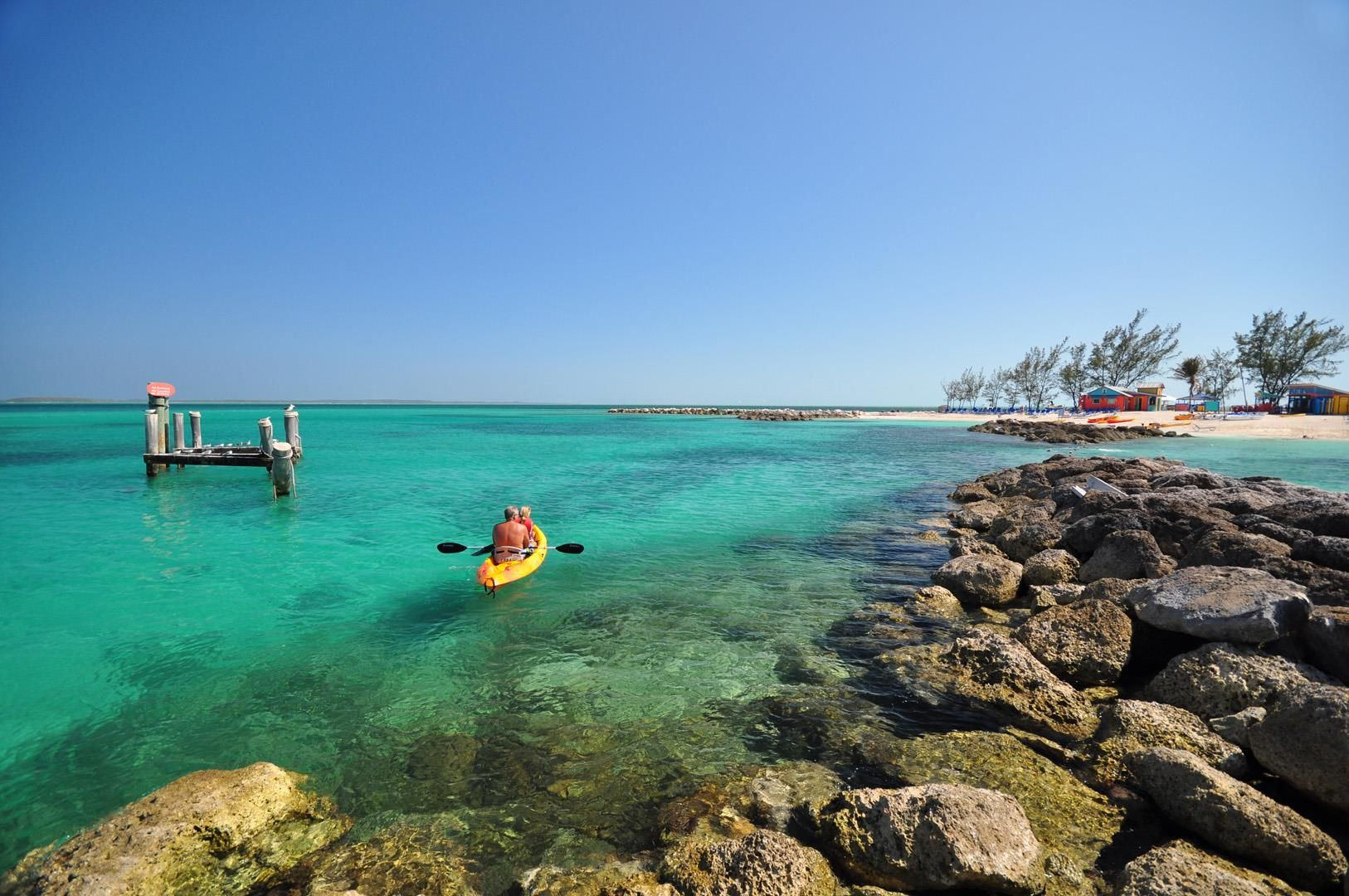Kayaking in the Bahamas
