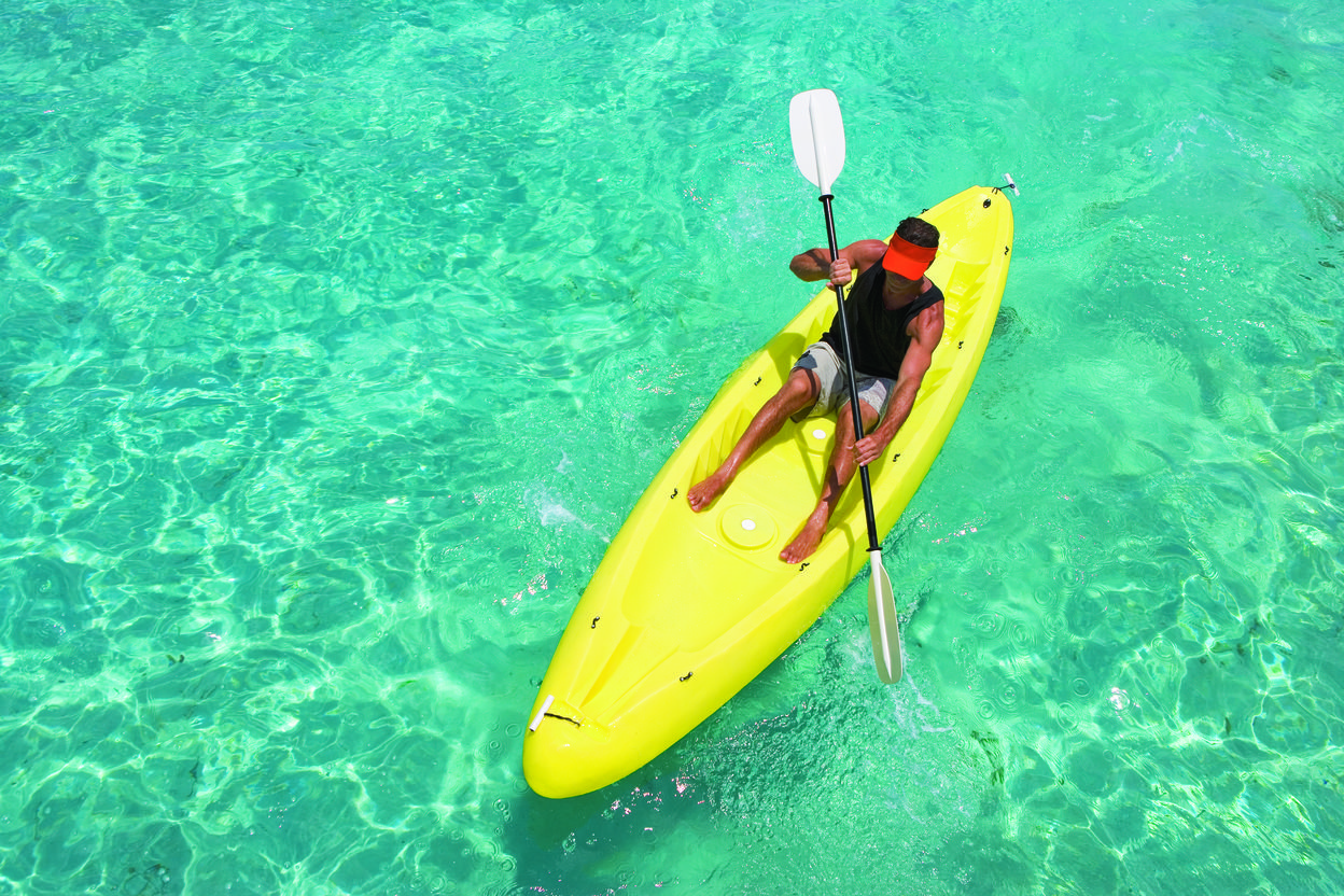 Kayaking in Cozumel