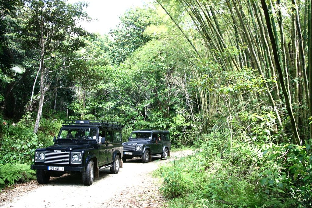 Offroading in Guadeloupe