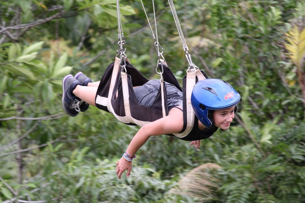 Ziplining in the Philippines