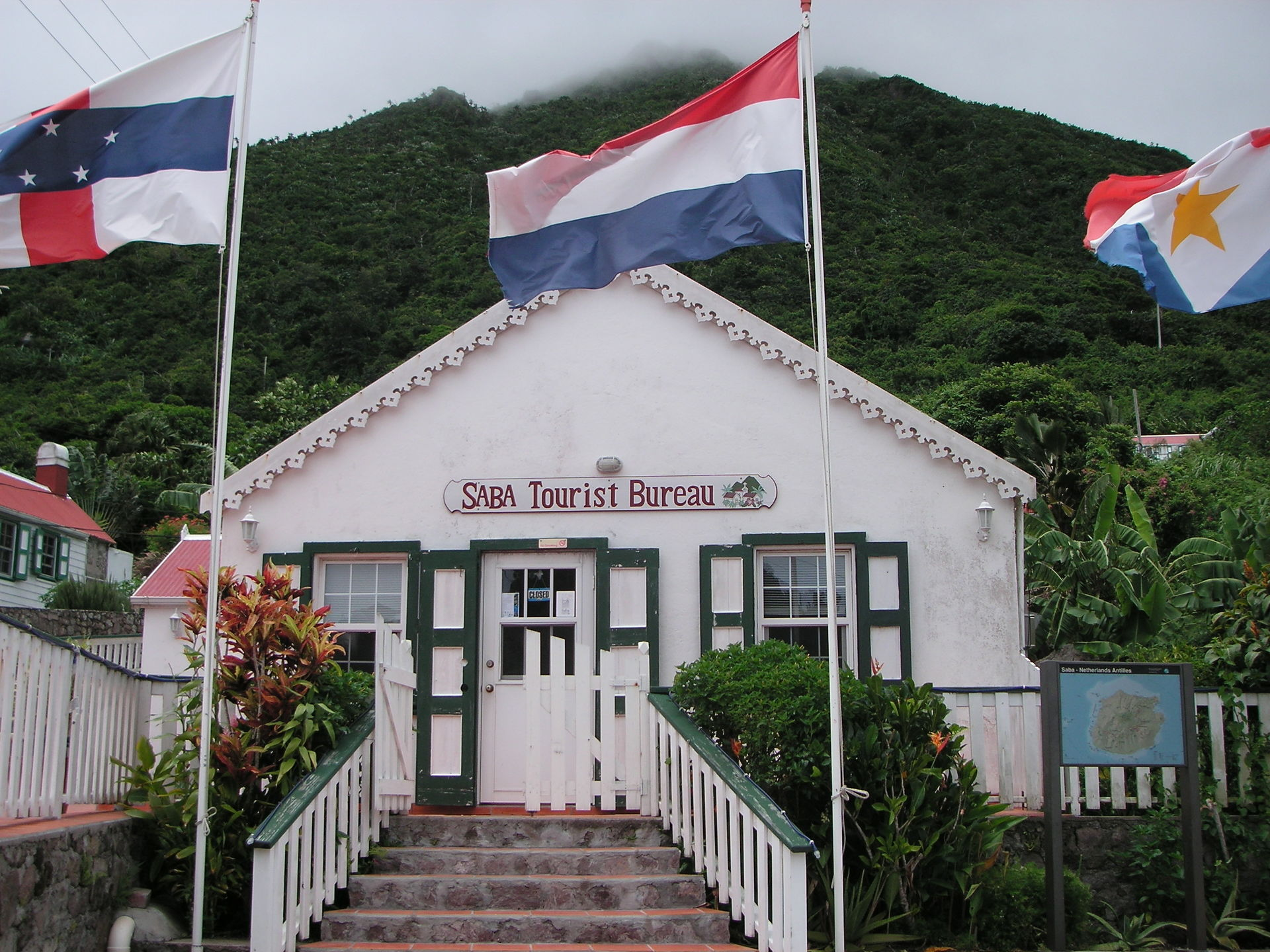 Vacations in Saba
