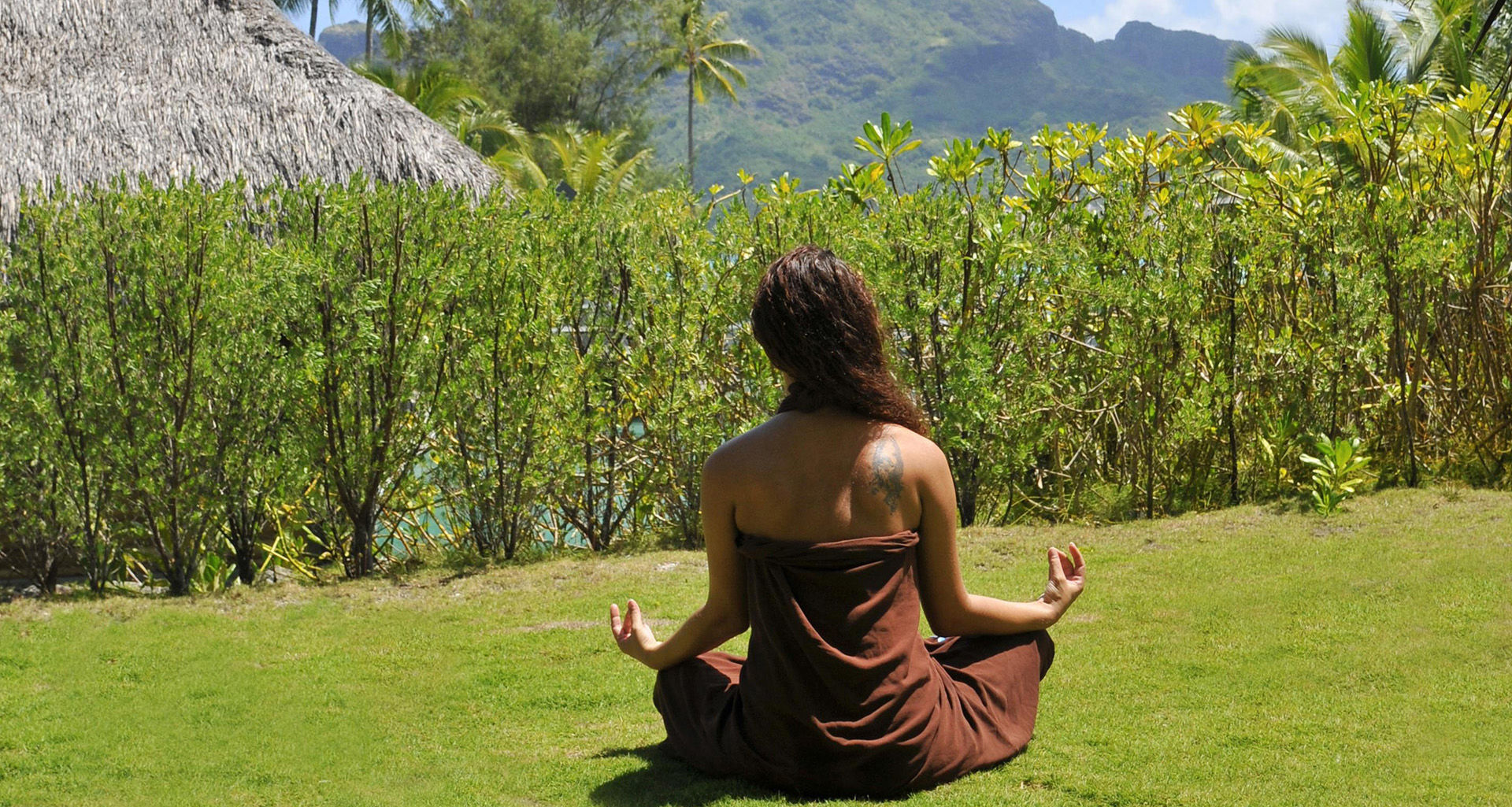 Yoga in Tahiti