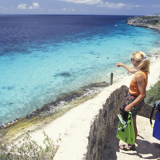 Bonaire's Dive Site 1000 Steps