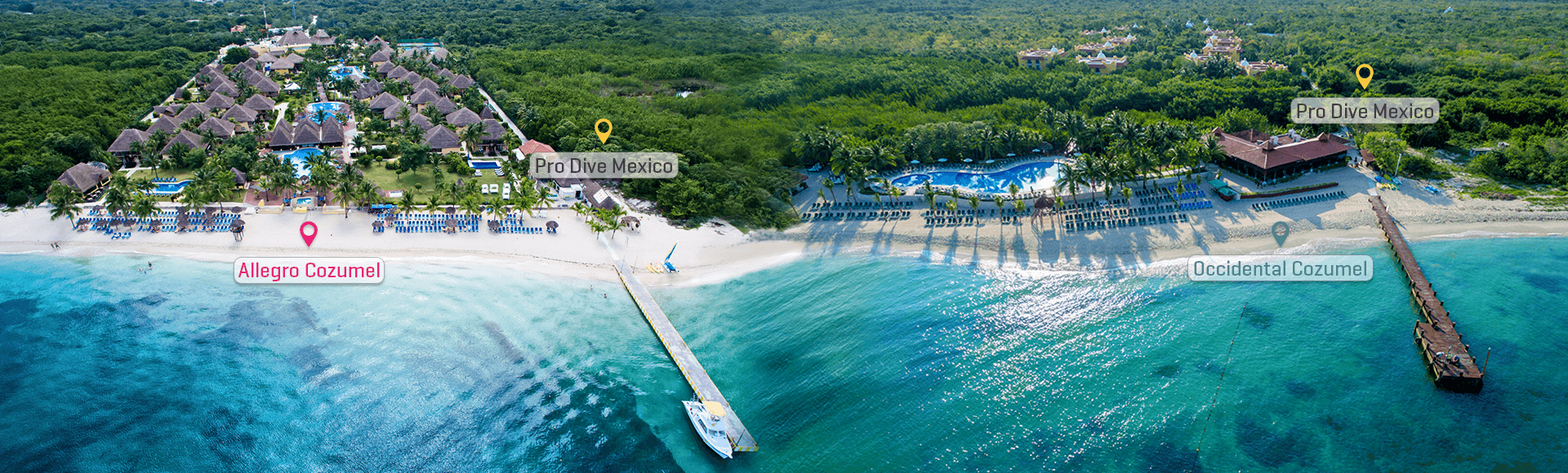 The Ultimate Dive Experience offered at Allegro and Occidental Cozumel allow divers to discover Cozumel like never before.