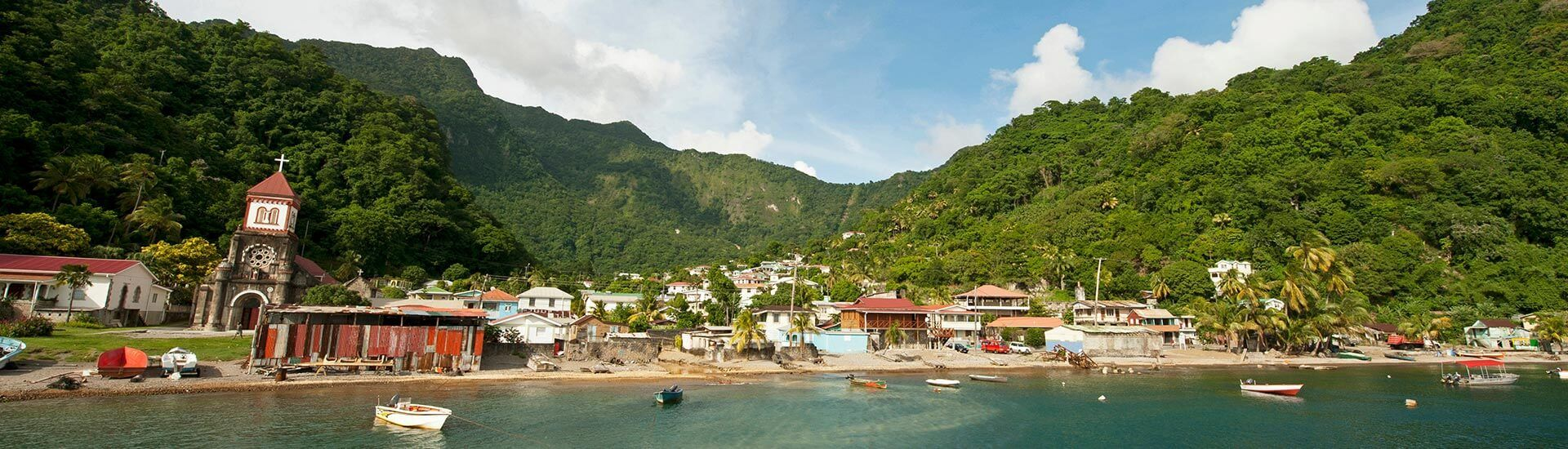Leave the high-rise beach resorts and crowds behind with a trip to Dominica. This green gem of an island is all about relaxation, eco-adventures and some of the Caribbean's best diving.