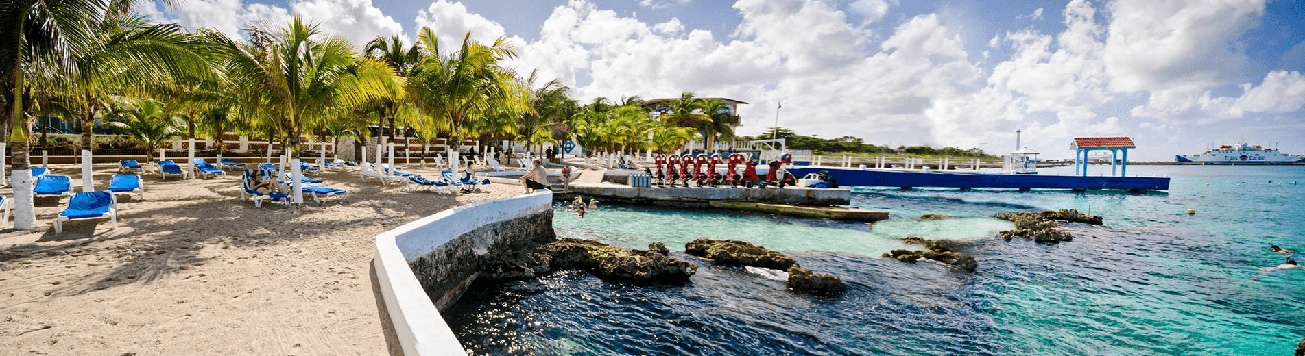 Mexico is known for its warm, welcoming hospitality and at Hotel Cozumel, that's exactly the ambiance you'll receive. This gorgeous Mexican-style Hotel and Resort offers a colorful setting full of adventures above and below the water.