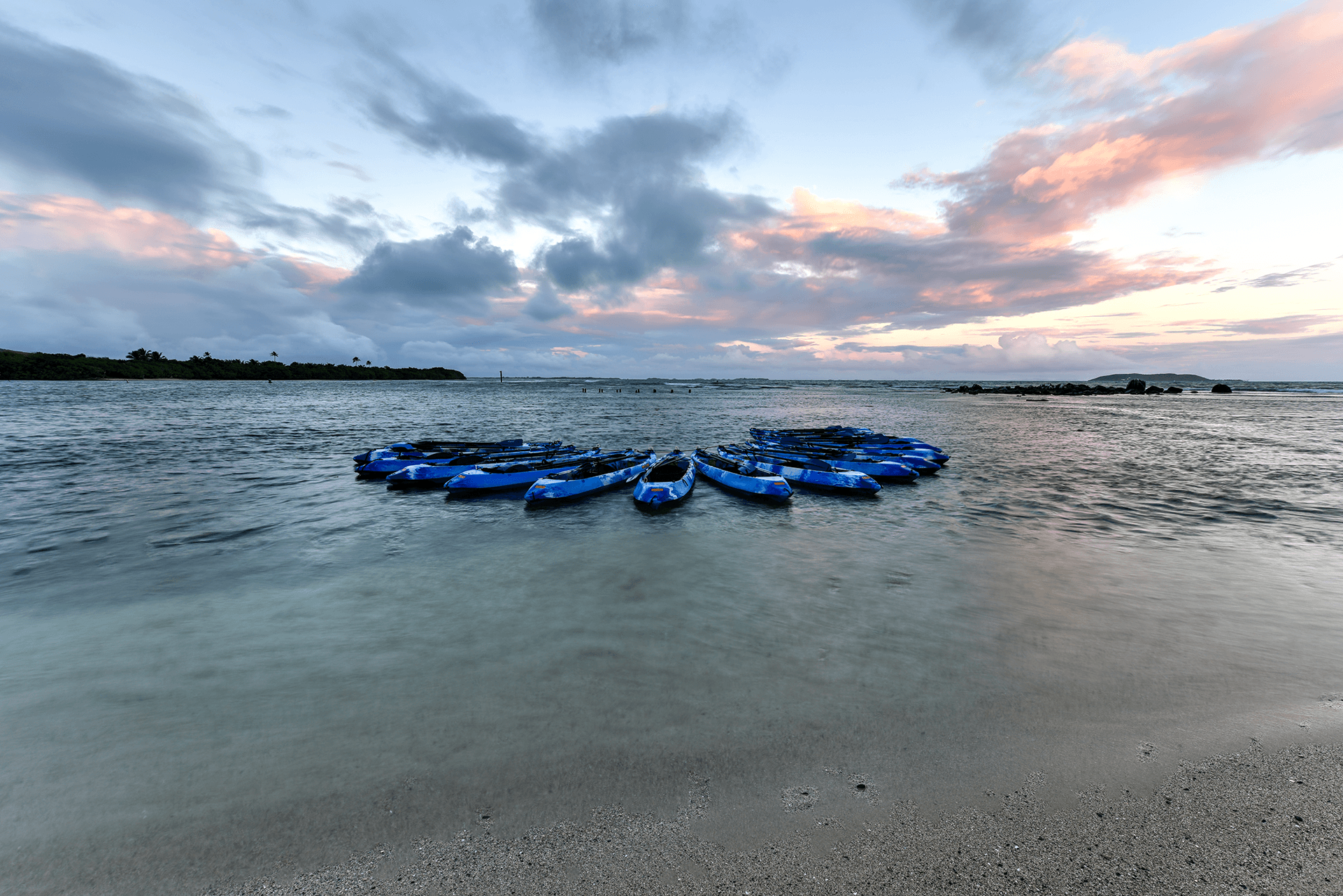 Kayaking in Bio Bay Lagoon, Puerto Rico