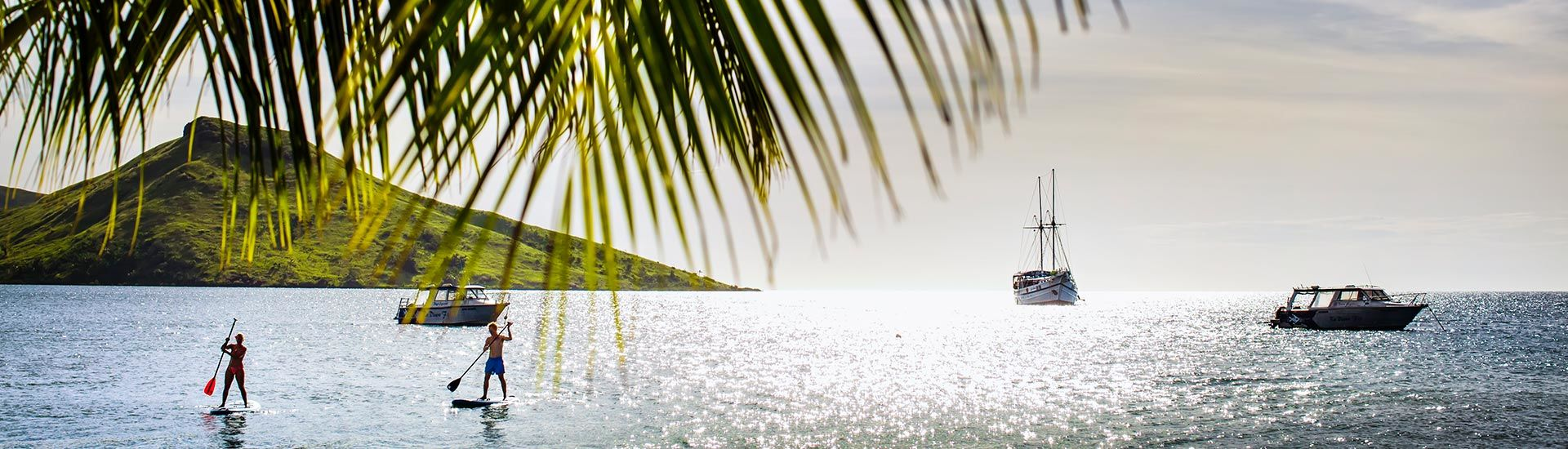 With the technicolor reefs of the Blight Waters just minutes away and Fiji's best-equipped dive center on premises, Volivoli Beach Resort is a diver's first choice.