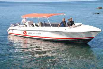 Dive St. Kitts Dive Boat
