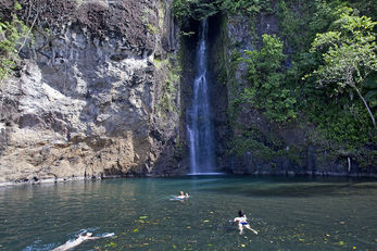 Waterfall Swim at Tufi Dive Resort