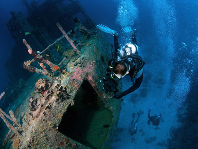 The Maldives may be a nation of coral reefs it also offers an exciting wreck or two to dive presenting a lifetime of diving possibilities