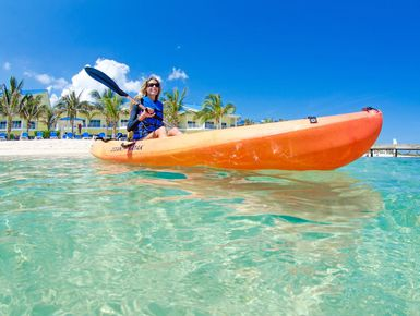 Kayaking in the Cayman Islands