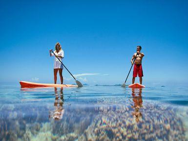 SUP in Fiji