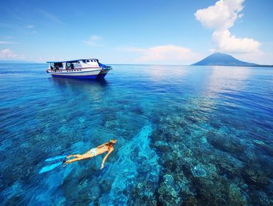 Snorkeling in Indonesia
