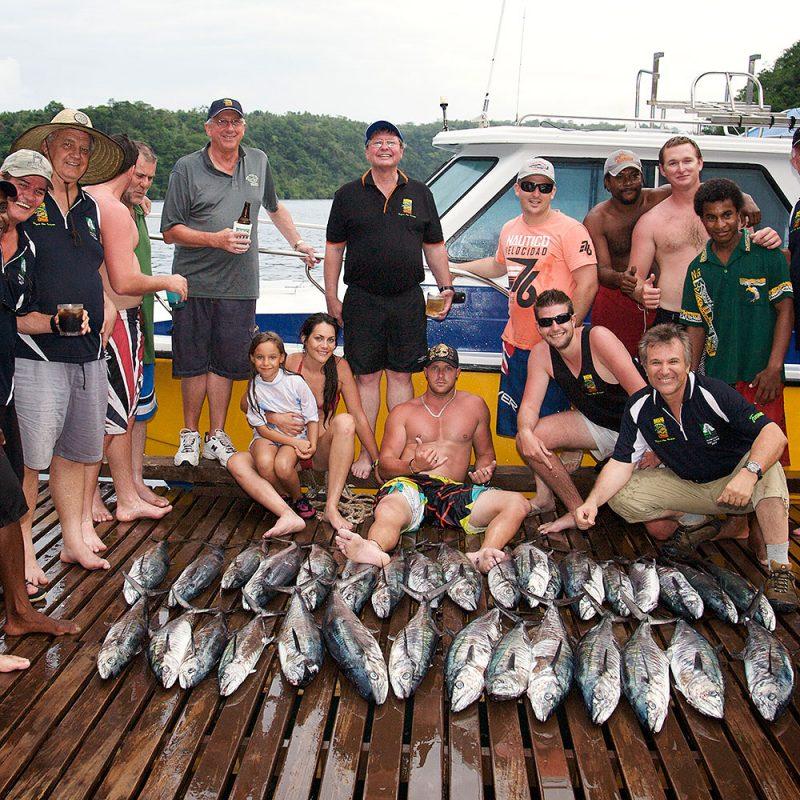 Fishing at Tufi Dive Resort